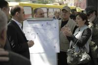 ნარმანიამ ჭავჭავაძის ქუჩის ერთ მონაკვეთზე ავტომობილების მოძრაობის განტვირთვის პროექტი წარადგინა